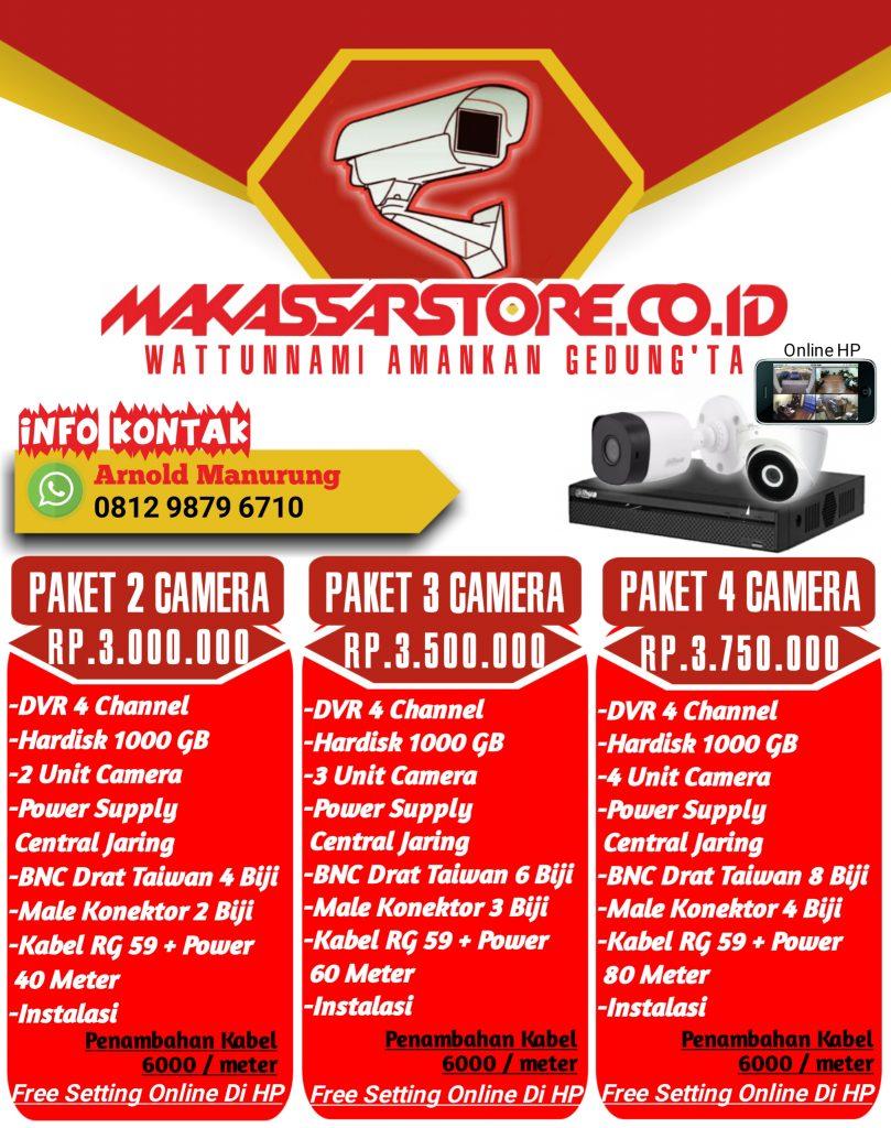 Promo Paket CCTV 4 Kamera September Ceria